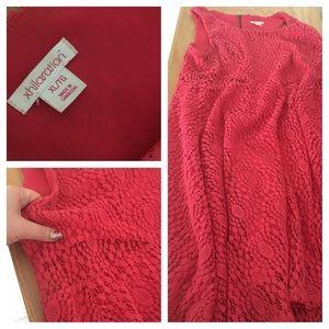 Target xhilaration coral dress size XL