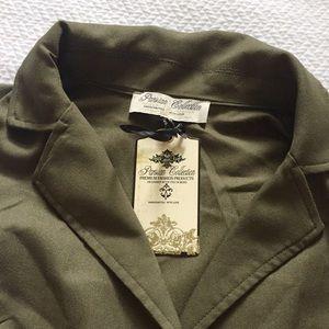 a3697cca7d1 ASOS Pants - ASOS Front Wrap Khaki Army Green Romper Jumpsuit