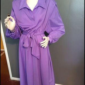 Vintage Misses XL Roaman's dress