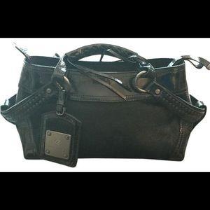 Francesco Biasia Handbags - ❤️ Patent Leather & pony hair purse