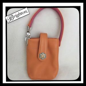 Brighton Handbags - Brighton Leather Phone Purse Pouch
