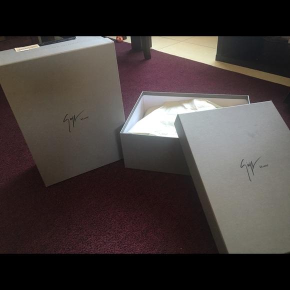 33fd30b2db1a2 Giuseppe Zanotti Shoes   Design Homme Box   Poshmark