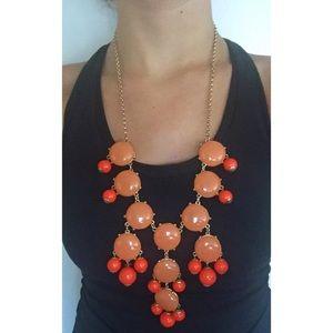 Orange bubble necklace!☀️