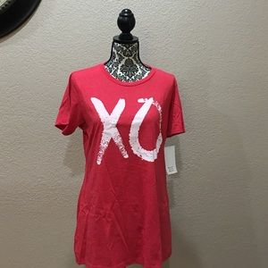 "Tops - Ladies ""XO"" Boyfriend Tee"