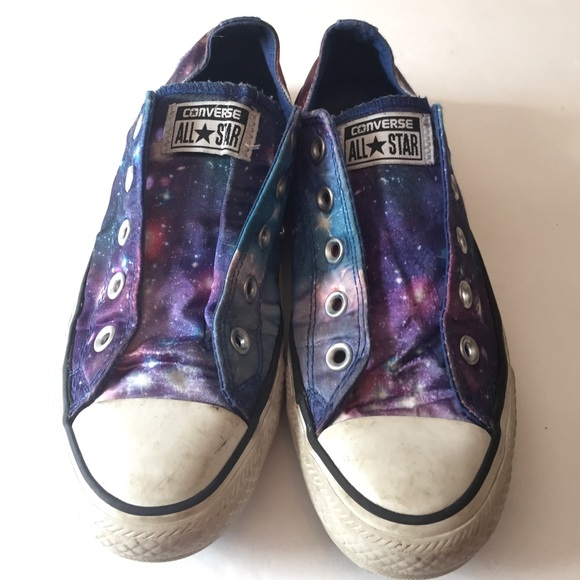 1dcc3cc78a31 Converse Shoes - Converse all-star galaxy print sneakers !