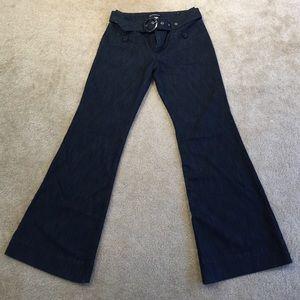 Like new Dark Wide Leg Jeans Z. Cavaricci size 8