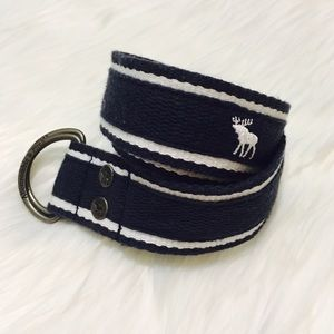 Abercrombie & Fitch Accessories - Abercrombie & Fitch Navy Blue Belt