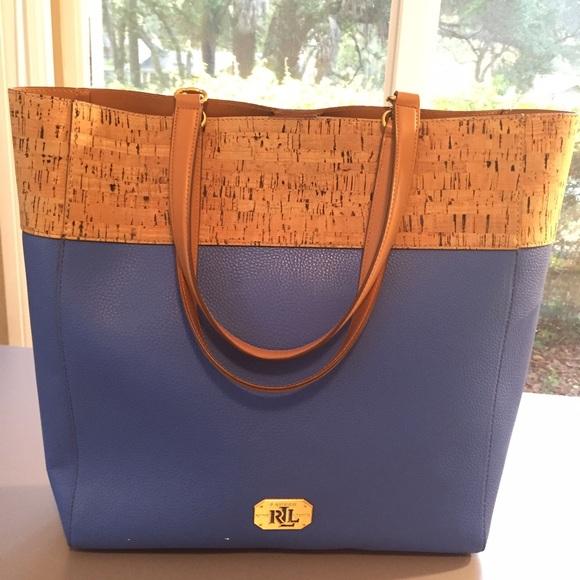 645021b5de Blue with cork handbag. M 5764839f291a3507c0002897