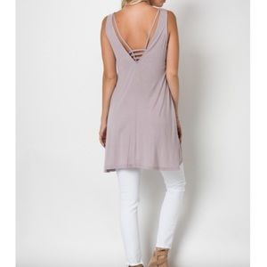 Sale | New Tunic in Dusty Orchid