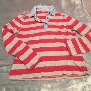 Vintage bass striped shirt