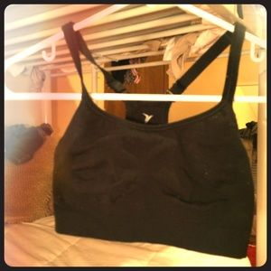 Black old navy sports bra, xs