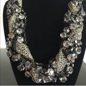🎉 Twisted Sister Statement Necklace