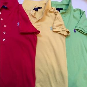 Ralph Lauren Sport Slim fit Polo shirts.