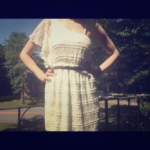 My Michelle Dresses & Skirts - One-shoulder off white dress