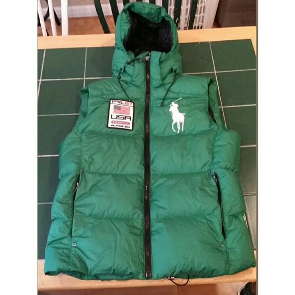 Polo Ralph Lauren Big Pony USA Puffer Vest