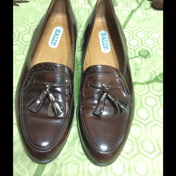 bally bally brown leather shoes sz11d 275 from