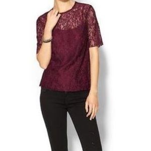 Piperlime Tops - Piperlime lace top with lining