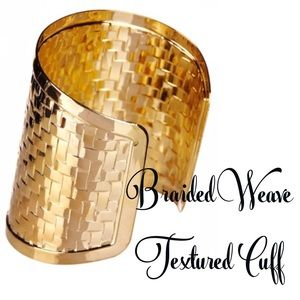 T&J Designs Jewelry - Braided Weave Textured Cuff