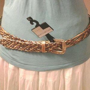 White Stag Accessories - Gorgeous Braided Belt
