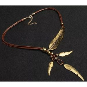 Solstice Boutique Jewelry - 🌟🆕 Feather Rope Chain Necklace