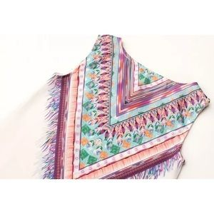 Solstice Boutique Tops - 🌟 White Tribal Print Shift Dress