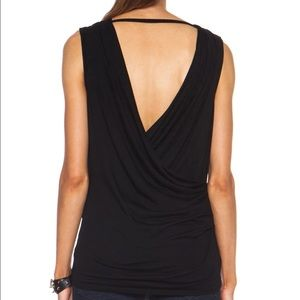 Helmut Lang Tops - Authentic Helmut Lang black crossover top