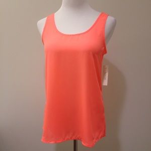 Bright colored sleeveless top