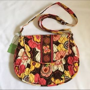 Vera Bradley Saddle Up in Buttercup Crossbody Bag