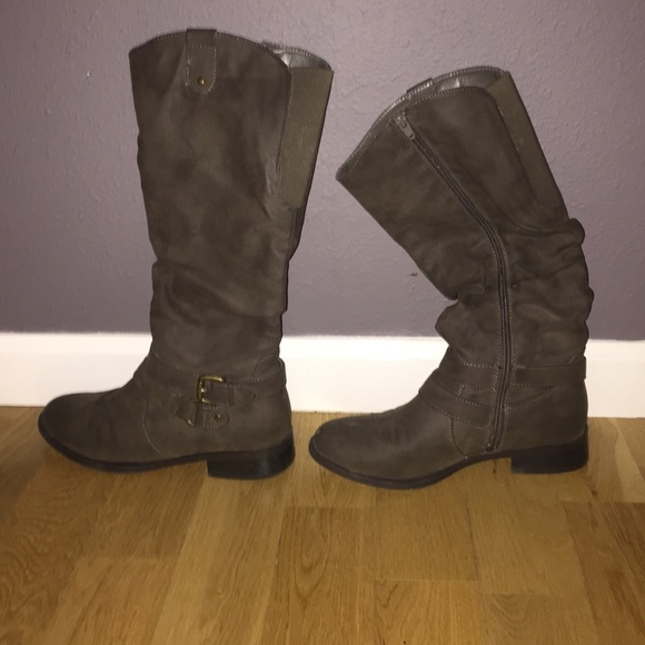 Tall Grey Boots From Target | Poshmark