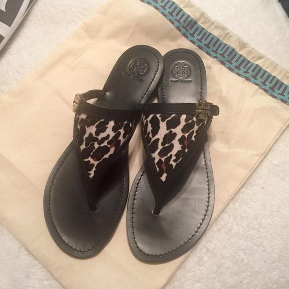 60c84a0fb Tory Burch Eloise Flat Thong Sandals. M 576536592de51283e3013476