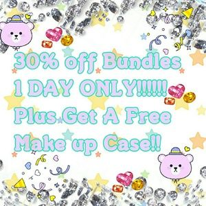 Get 30% Off Bundles And A Free Gift June 23 Only!!