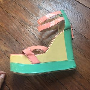 mat. Shoes - Matiko platform sandals