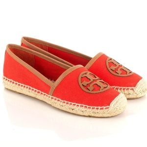 Tory Burch Shoes - Tory Burch Orange Espadrilles