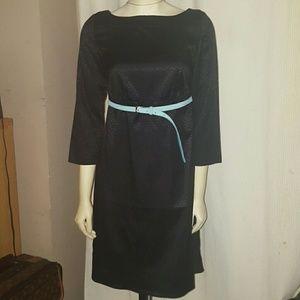 rosie pope Dresses & Skirts - Rosie Pope dress black tutquise belt