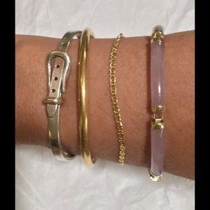 Lucky Jade Jewelry - 💝925 Sterling Silver Belt BuckleBangle Bracelet💝