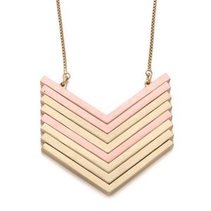 Madewell Jewelry - ‼️❌SOLD❌‼️Madewell Arrowstack Necklace - Rose Gold
