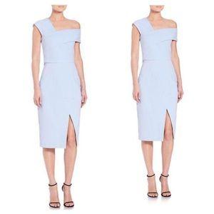 Nicholas Dresses & Skirts - Nicholas Blue One Shoulder Ponte Dress