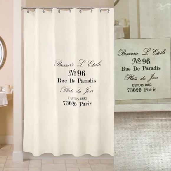 Fashion Paris Shower Curtain