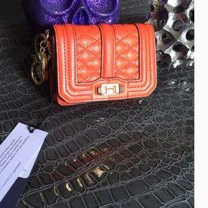 Rebecca Minkoff Handbags - NWT Rebecca Minkoff Love mini bag/key fob