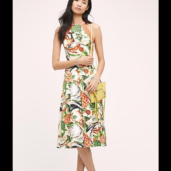 12aa0ee4158 Eva Franco Pineapple Halter Dress