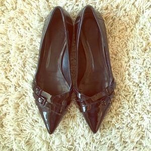 Burberry Shoes - ❄️SALE TODAY❄️Burberry patent flats