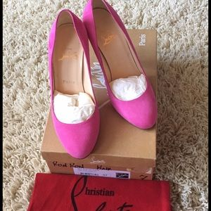 Christian Louboutin Shoes - THINKING OF SELLING ❤️Auth pink Loub Ron Rons❤️