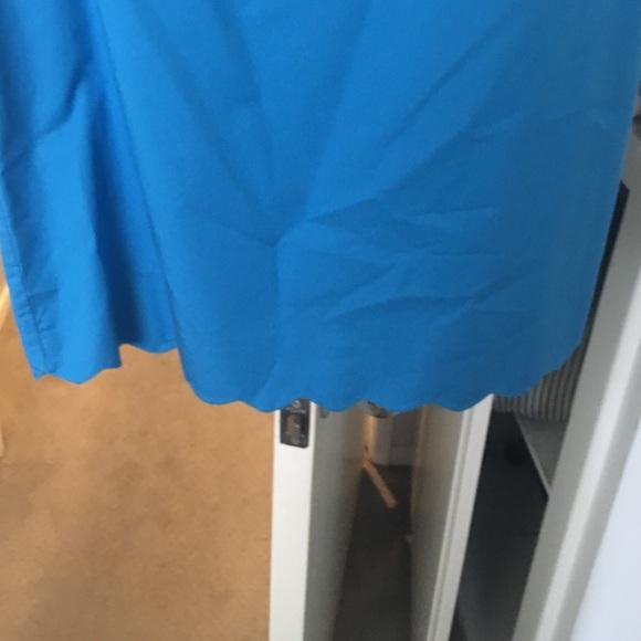 J. Crew Dresses - Rare jcrew scallop dress