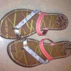 Sam & Libby Sandals. size 8. Classy beachwear
