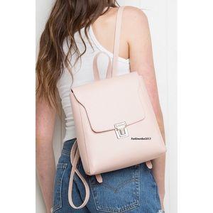 Brandy Melville pink buckle backpack