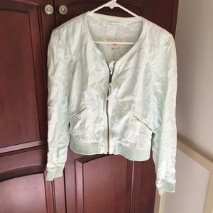 Wilfred Mint Bomber Jacket