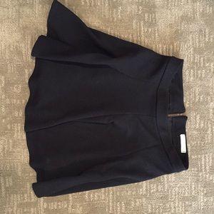 Black mini skirt. Lush size medium.