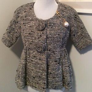 Anna Sui Jackets & Blazers - FINAL⬇ Adorable Vintage Tweed Anna Sui Jacket