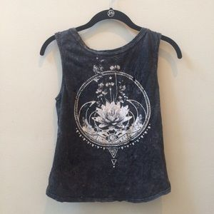 Urban Outfitters Graphic Open-Back Tank