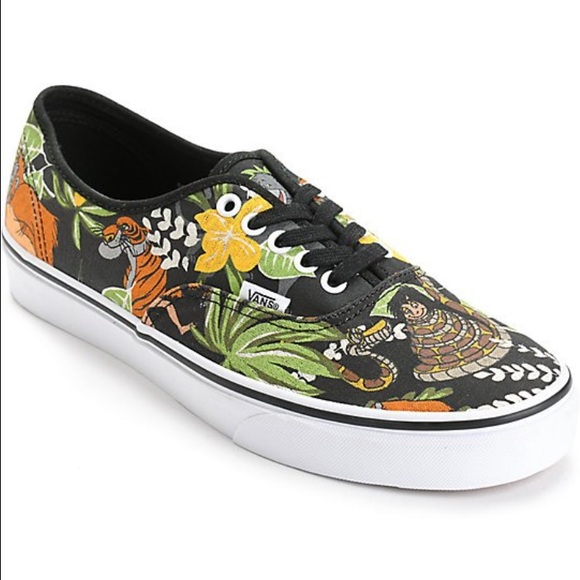 29e6118c2f Disney Jungle Book Vans shoes